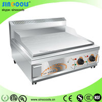 Table top stainless steel griddle electric griddle with good quality