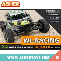 2016 new wl toys a929 4wd 4x4 1:8 scale military desert rc truck