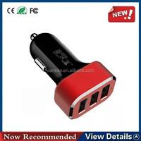 Hot Sale Car Cigarette Lighter Socket Dc 12v Dual Usb Car Charger Power Adapter Outlet