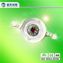 1w yellow led guangdong shenzhen 585nm 590nm power led yellow color