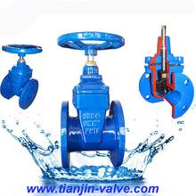 good quality DIN din3352 f5 non rising stem gate valve