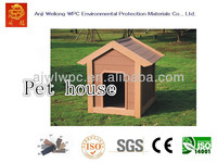 Funny wpc wood plastic composite durable dog cage