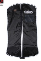 personalized clear garment bag for luxury clothes for men, dresses suit bag