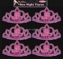 Wholesale Hen Party Bride to be Pink Mini Tiara