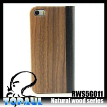 top selling custom wooden phone case for iphone5\/5s