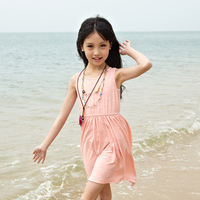 long summer casual girls dress of fashion cliothing