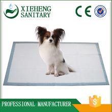 soft breathable super absorbent disposable puppy training pad for floor care