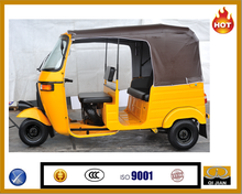 2015 Electric 3 wheeler made in china factory good price and high quality BAJAJ passenger tricycle