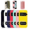 2013 leather phone accesories for iPhone 5c leather wallet case