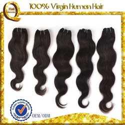 wholesales human virgin hair cheap brazilian body wave hair weft