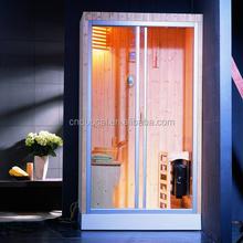 Bottom Price One Person Delux Finish Sauna Room (GS-A0800)