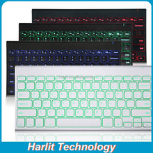 Tablet PC Backlit Bluetooth Keyboard For IOS/Android/Windows Tablet Universal Wireless Keyboard Back Light