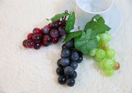Most popular artificial grapes for wedding decoration for Artificial fruit for decoration
