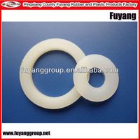 China machined as drawing ptfe flat washer with high precise