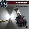 high performance colour white 6500k Gen6 super bright led headlight bulb h4