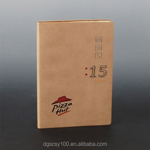 Dongguan factory supply Vintage leather cover fashion sketch book