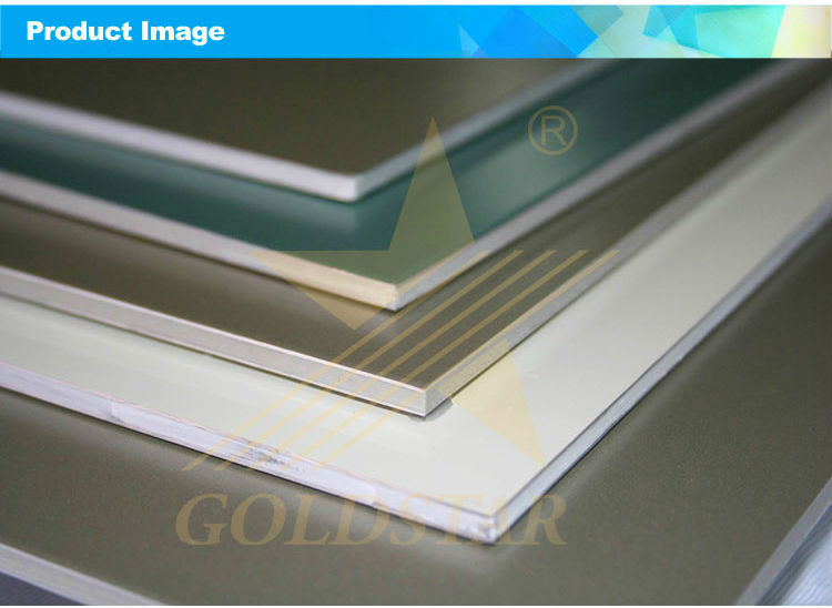 B1 Level Fire Resistant Aluminum Composite Panel, Alocbond