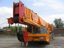 KATO NK800E, used wheel truck crane, 80 ton lifting truck crane for sale