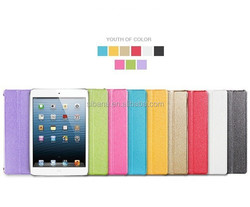 Top Quality Luxury Fashion Business Intelligent Sleep Flip Pu Leather Cases for ipad air 2 Smart case