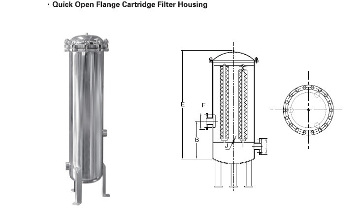 filter housing  filter housing drawing