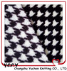 warm printed thermal black and white snuggle flannel for garment