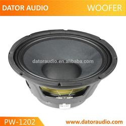 Chinese manufacturer cheap price dual subwoofers 12 inch