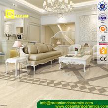 ivory color polished vitrified floor tile designs