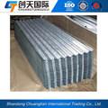 Sgcc corrugado chapa de acero galvanizado para el contenedor