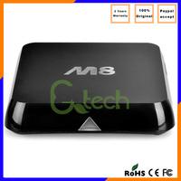 M8 S802/M8N AMLogic S802 quad core Android4.4 kitkat ott tv box M8 TV BOX 4K2K WIFI+Bluetooth4.0 1G 8G M8 turkish channels googl