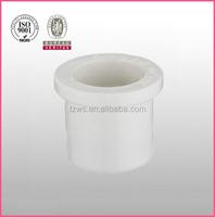 """HJ"" PVC white plastic sch40 pipe fittings bushing reducing bush"