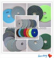 BEST Diamond Dry Polishing For Stone Granite Marble Quartz Polishing Pad 80/100/125mm Thickness 2.2mm High Gloss Diamond Dry Pad