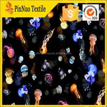 wholesale polyester spandex custom fabric printing service digital printed flower girl dress patterns