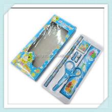 5pcs Pencil Eraser Ruler Stationery Set for Student in School