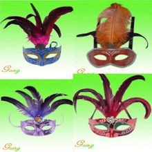 2015 Newest Party Feather Mask For Party Decoration