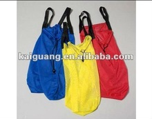"""Lot Of 4 Mesh Nylon Tote Shopping Grocery Beach Pool Carry Bag NEW"""""""