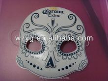 2014 Customized PVC elegant party mask for Halowmas or Chrismas