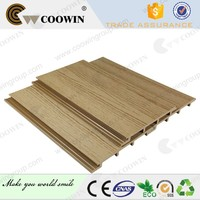 Roof Panels Grooved WPC Wall Panel Cladding Wood Plastic Composite Wall Panel Outdoor WPC Wall Cladding