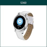 Best quality Bluetooth watch phone with round shape touch screen Android Watch 2015