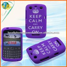 For Blackberry 9360 Laser cut Silicon phone Case