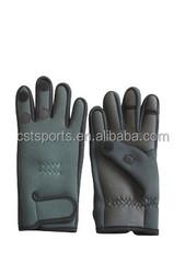3MM neoprene 3-finger fishing gloves