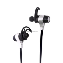 New design Metal wireless earphone Bluetooth For sport and cell phone