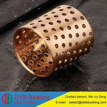 Wrapped bronze bushing,wrapped bronze bearing,with fully oil hole split bronze/copper/brass bush