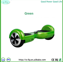 Classical style 6.5 inch self balance electric scooter two wheel comfortable green hover board swegway factory price top quality