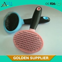 2015 New Product plastic pet grooming brush