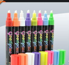 Hot Selling 6mm Nib Dry Wide Chalk Marker Custom Labeling Chalk Marker Erasable Chalk Marker