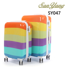 New design product ABS cool luggage suitcase decent girls travel luggage for kids