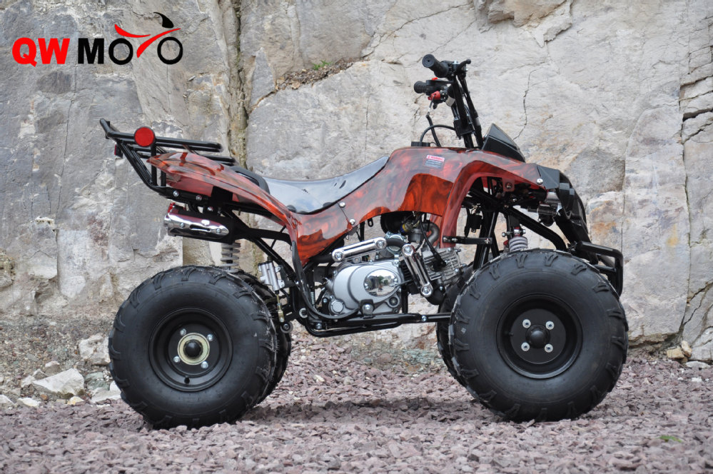 qwmoto ce china hot selling 125cc dirt quad bike buggy 4. Black Bedroom Furniture Sets. Home Design Ideas