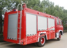 6000Liters water tender with fire pump Dongfeng Fire Truck By manufacture Sale Suizhou China