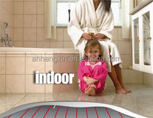 single/twin conductor heating cable system for kitchen and bathroom