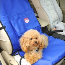 Blue Single Seat Cover Dog Car Seat Cushion